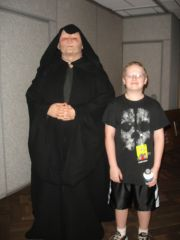 Chris meets Emperor Palpatine