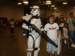 Hanging out with Sandtrooper