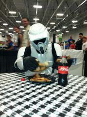 See troopers do eat.