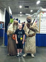 Chris finds Tusken Raiders