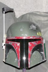 ESB Boba Fett Helmet Paintup